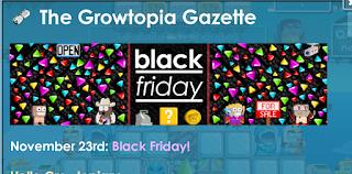 Cara Cepat Kaya di Growtopia dengan Black Friday dan Cyber Monday Event