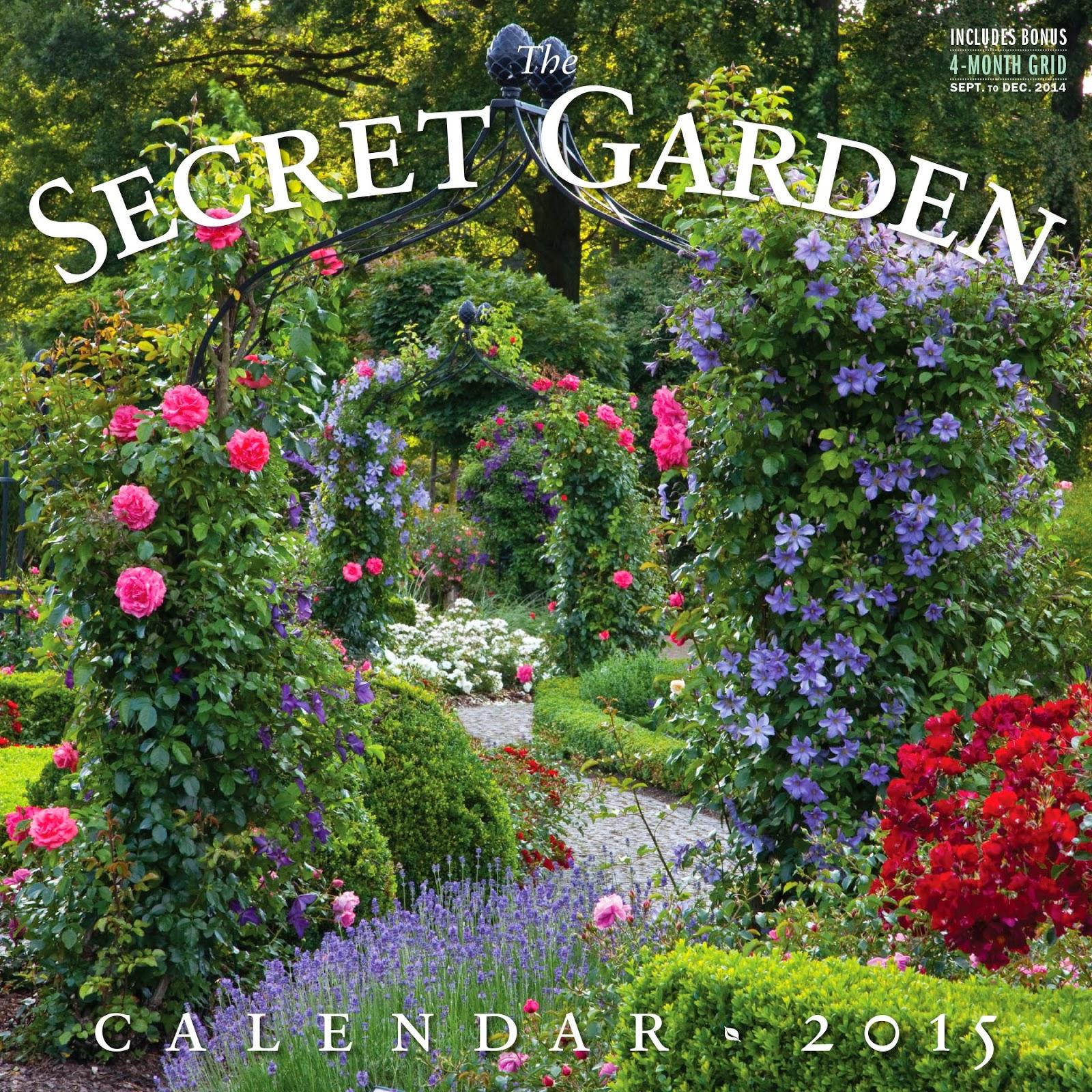 Secret Garden: Secret Garden 2015 Wall Calendar