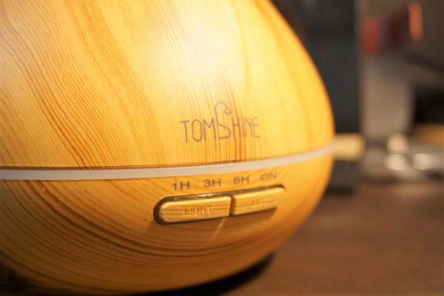 【TOMSHINE 加湿器】木目調デザインが美しい。アロマも利用してリラックス効果も。TOMSHINEの加湿器をレビュー!