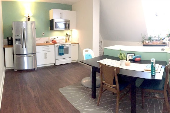 Finished Apartment Kitchen Renovations