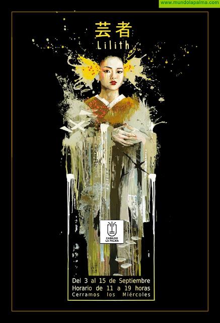 El Cabildo de La Palma inaugura la exposición 'Geisha' en la Sala de Exposiciones O'Daly