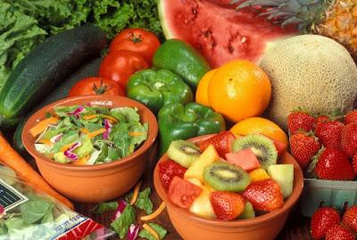 Aumenta las verduras y frutas en tu dieta