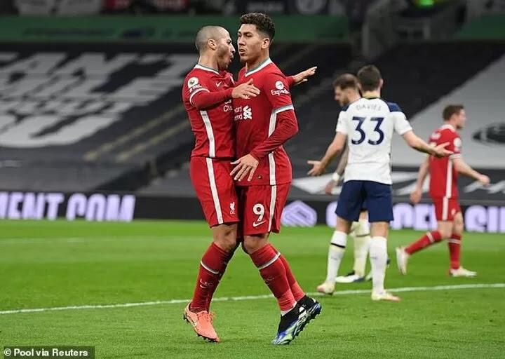 Firmino is 'the least-selfish striker' admits Thiago after Man Utd brace