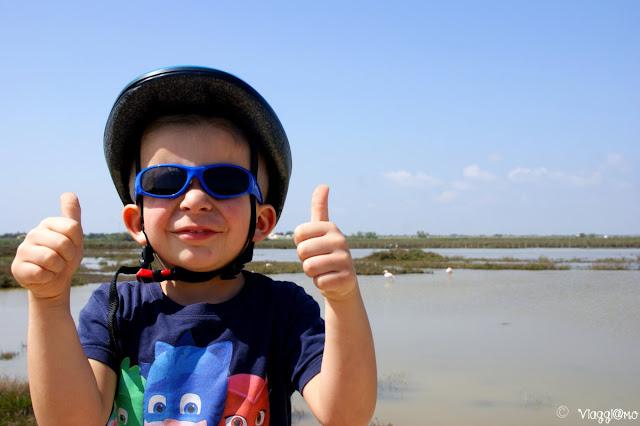 Passeggiata in bici nel Parco Nazionale della Camargue