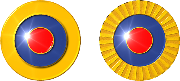 VENEZUELA ESCARAPELA DE FUNDICIÓN Y ESMALTE 1880 nacional ceo dir 119 cucarda insignia