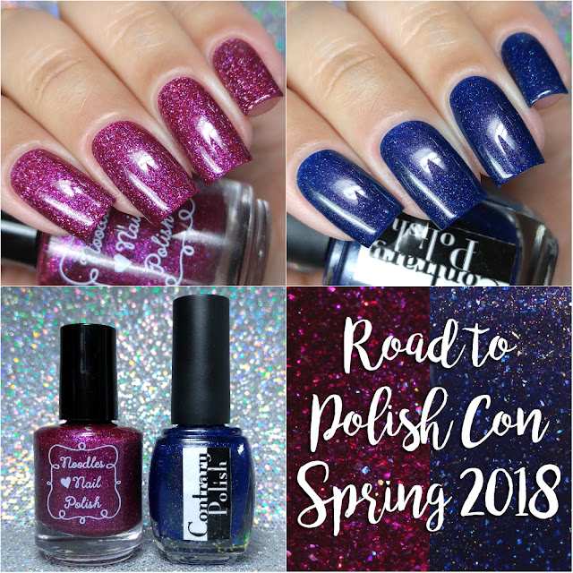Road to Polish Con Spring 2018 | Week 11 Contrary Polish & Noodles Nail Polish
