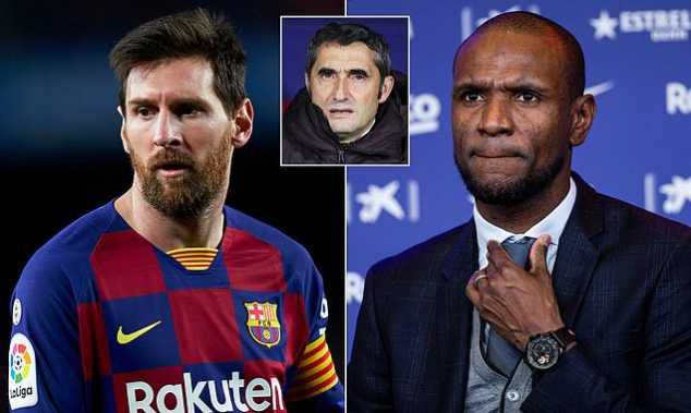"""""""Mention Names"""" - Barcelona Star Lionel Messi Blasts Sporting Director Eric Abidal"""