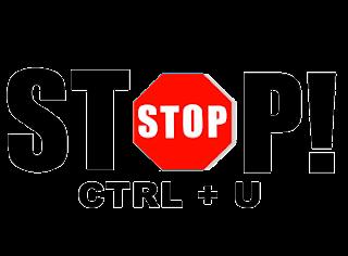Anti Ctrl + U Dengan Efek Redirect (Mengalihkan)