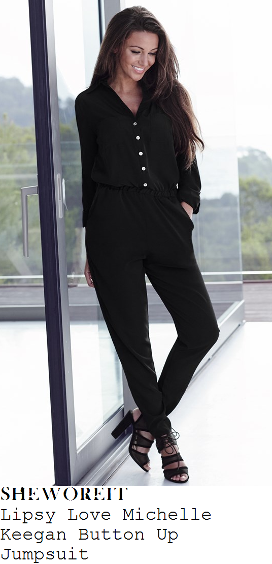 michelle-keegan-lipsy-love-black-long-sleeve-collared-button-up-slim-leg-jumpsuit