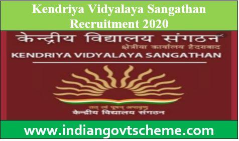 Kendriya Vidyalaya Sangathan Recruitment