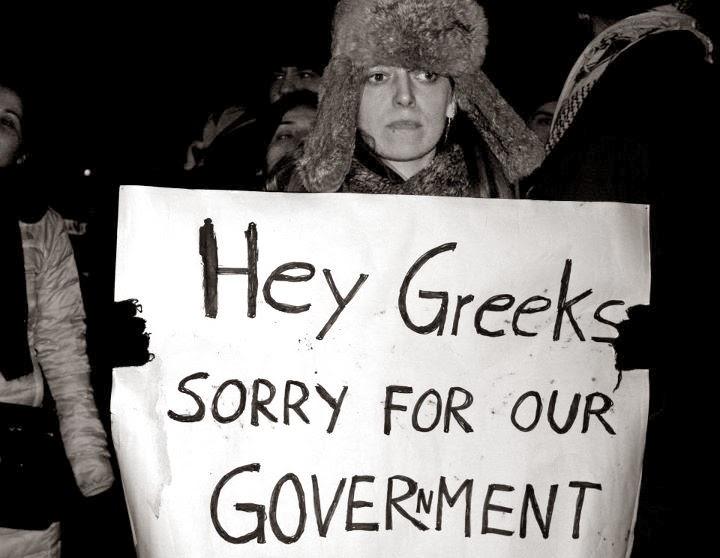 """Η φωτογραφία της ημέρας: """"Έλληνες, σας ζητούμε συγνώμη για την κυβέρνησή μας"""" !"""