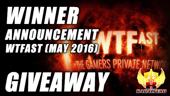 WTFast Premium Basic 1 Month Time Code Giveaway For May 2016 ★ Winner Announcement