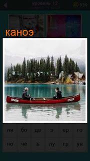по реке плывет каноэ с двумя мужчинами 667 слов 12 уровень