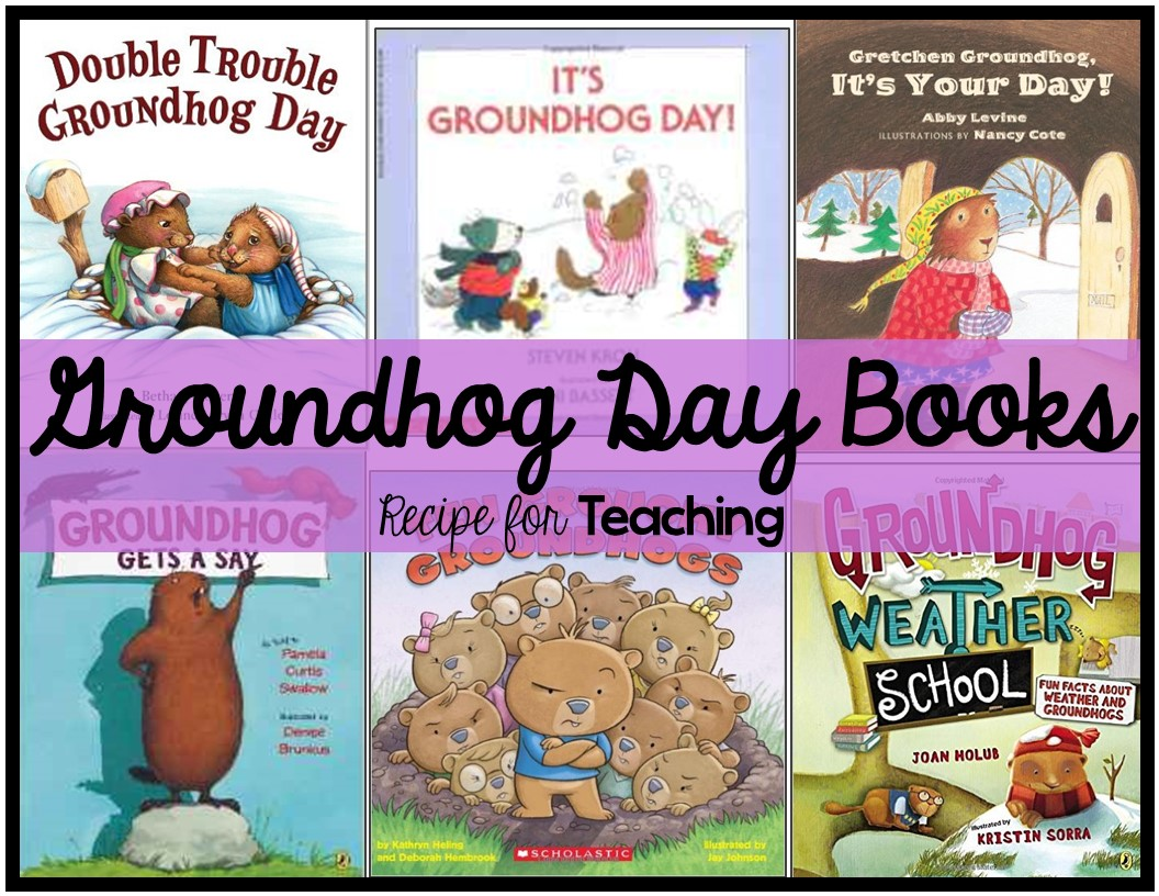 If you are looking for some Groundhog Day books, these are some of my  favorites (they can be found on Amazon):