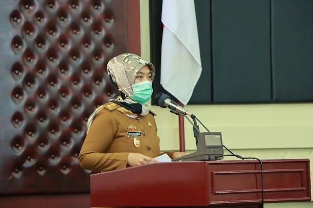 Wakil Gubernur Lampung Sosialisasikan Peraturan Gubernur Lampung Nomor 45 Tahun 2020 Tentang Pedoman Adaptasi Kebiasaan Baru