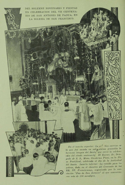 Filipino devotion to St. Anthony
