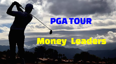PGA Tour Tournament Money Leaders, leaderboard,  List year by Year, All-Time.