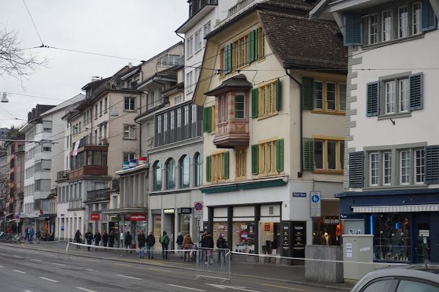 Kokemuksia Zürichistä