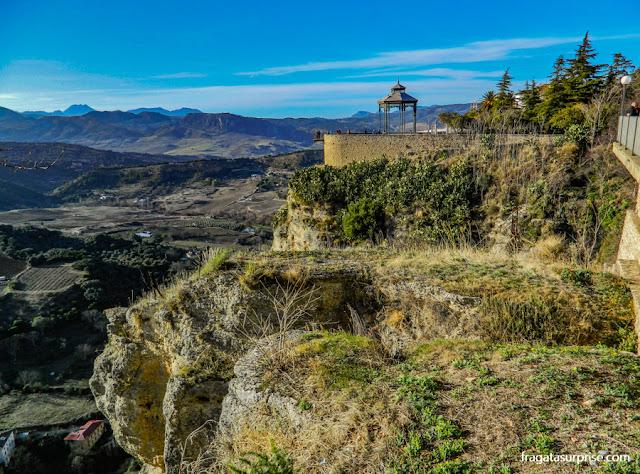 Mirante na Alameda de Ronda, Andaluzia
