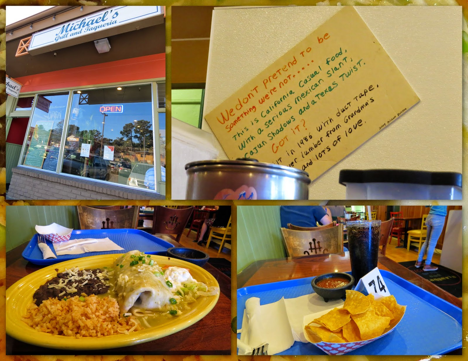 Michael's Grill and Taqueria - Pacific Grove
