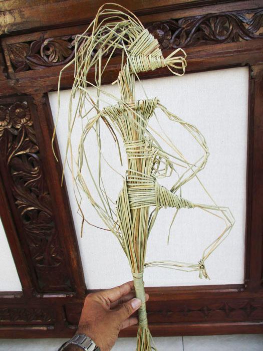 Mewalik Jaya Workshop Wayang Suket Di Studio Kopi Ndaleme Eyang Solo