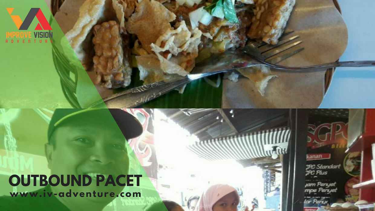 sego pecel outbound rafting pacet improve vision