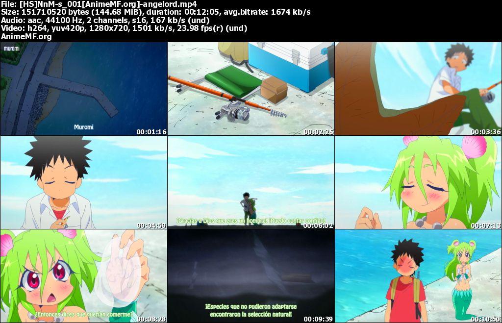 Descarga Namiuchigiwa no Muromi-san Sub Español Por Mega