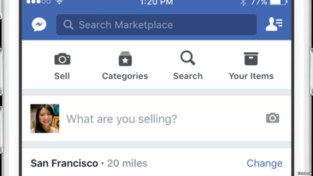 Sắp có Facebook Marketplace - cho phép mua bán trên mạng