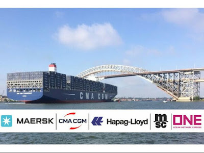 A.P. Moller - Maersk, CMA CGM, Hapag-Lloyd, MSC and ONE intend to set up Container Shipping Association
