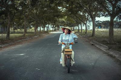 Belajar Mengendarai Motor Matic tanpa bisa gowes sepeda itu bisa kok selama kamu berusaha dan yakin