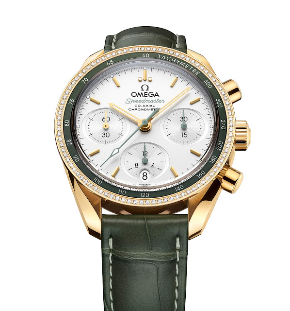 Omega Speedmaster 38 Co-Axial Chronograph Omega Speedmaster 38 mm 324.68.38.50.02.004