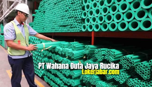 Lowongan Kerja PT Wahana Duta Jaya Rucika