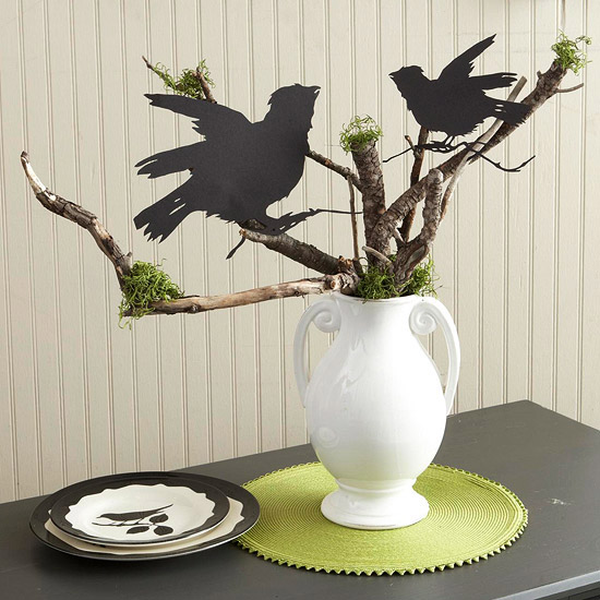 Halloween Centerpiece Ideas: Modern Furniture: 2011 Clever Halloween Centerpieces Ideas