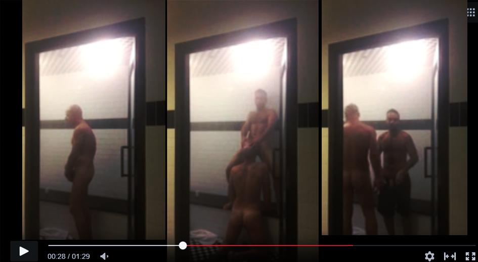 sexo oral en el sauna