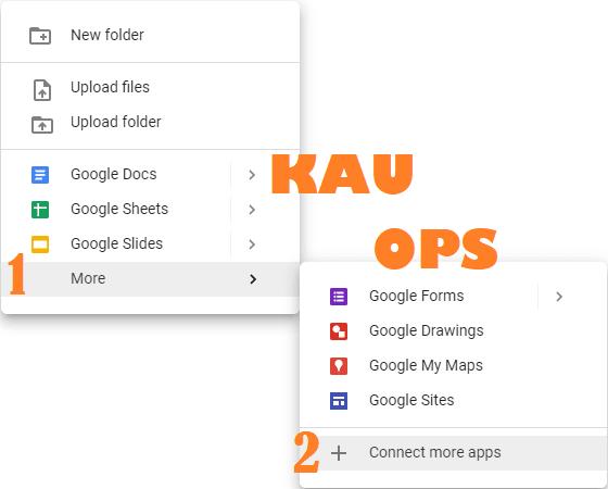 Langkah Pertama dan kedua dalam Merename File Masal Di Google Drive