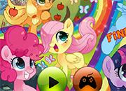 My Little Pony busca objetos