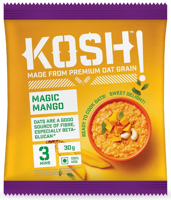 KOSH - Magic Mango - Sweet Instant Oats
