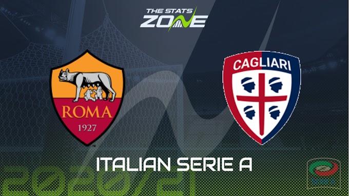 مشاهدة مباراة روما و كالياري بث مباشر