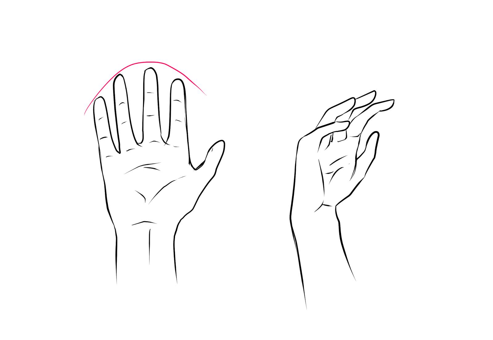 Middle Finger Outline - Bing images