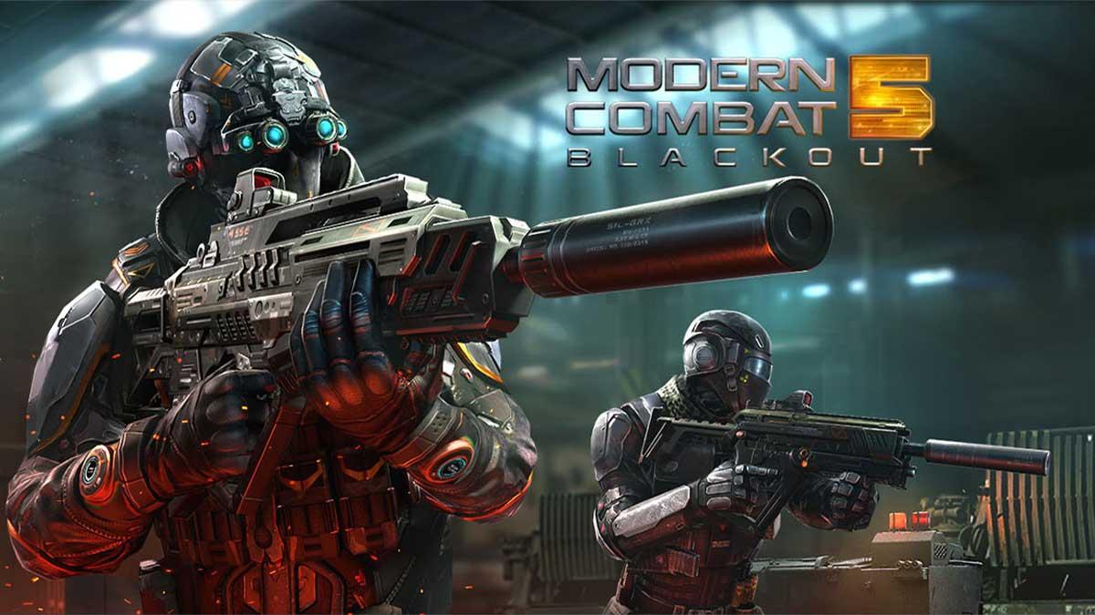 حل مشكلة no internet connection لعبة Modern Combat 5