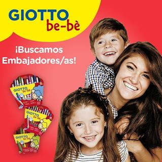 Giotto Bebe busca embajadores