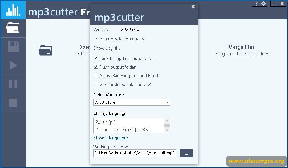 mp3 cutter 2020 full español