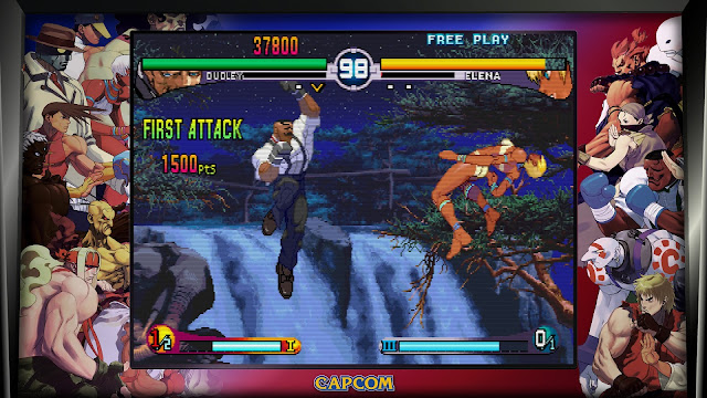 Street Fighter 30th Anniversary Collection - Street Fighter III - 3rd Strike - Dudley VS Elena
