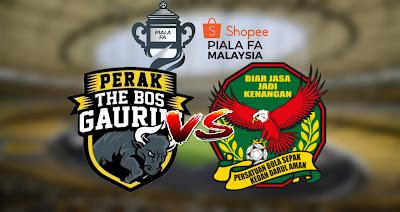Harga Tiket Perak vs Kedah Final Piala FA 2019