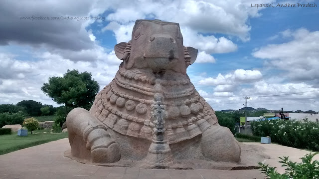 Monolithic Nandi of Lepakshi is the Biggest Monolithic Nandi in India, Indian Globetrotting