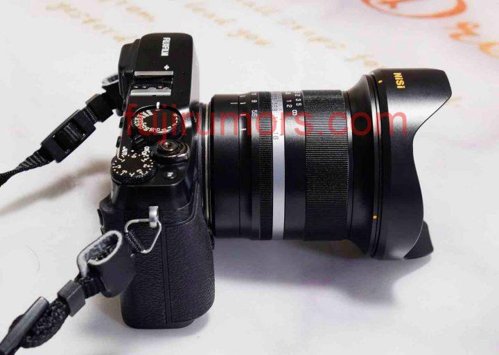 Объектив NiSi с камерой Fujifilm