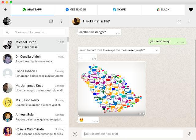 All-in One Messenger combina servicios de chat y mensajería en una sola aplicación - El Blog de HiiARA
