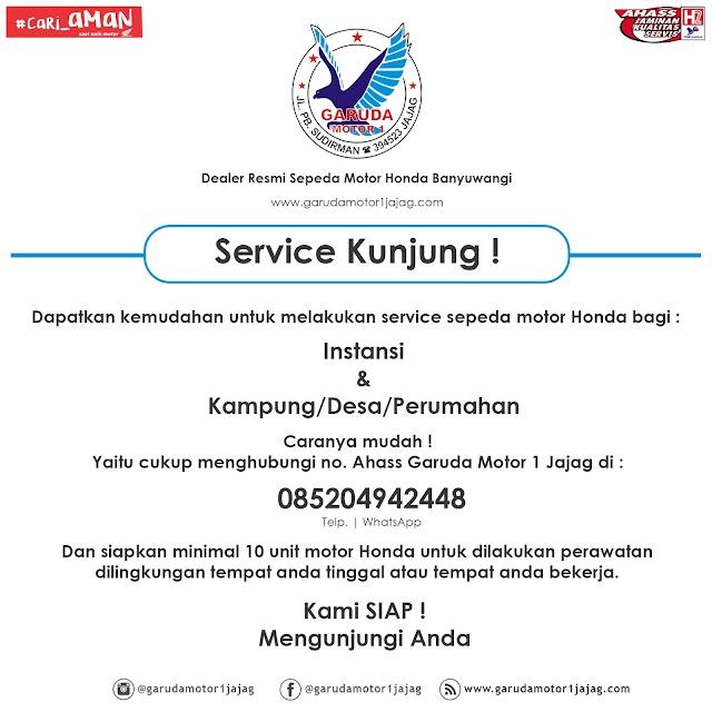 Layanan Service Kunjung Bagi Instansi & Kampung