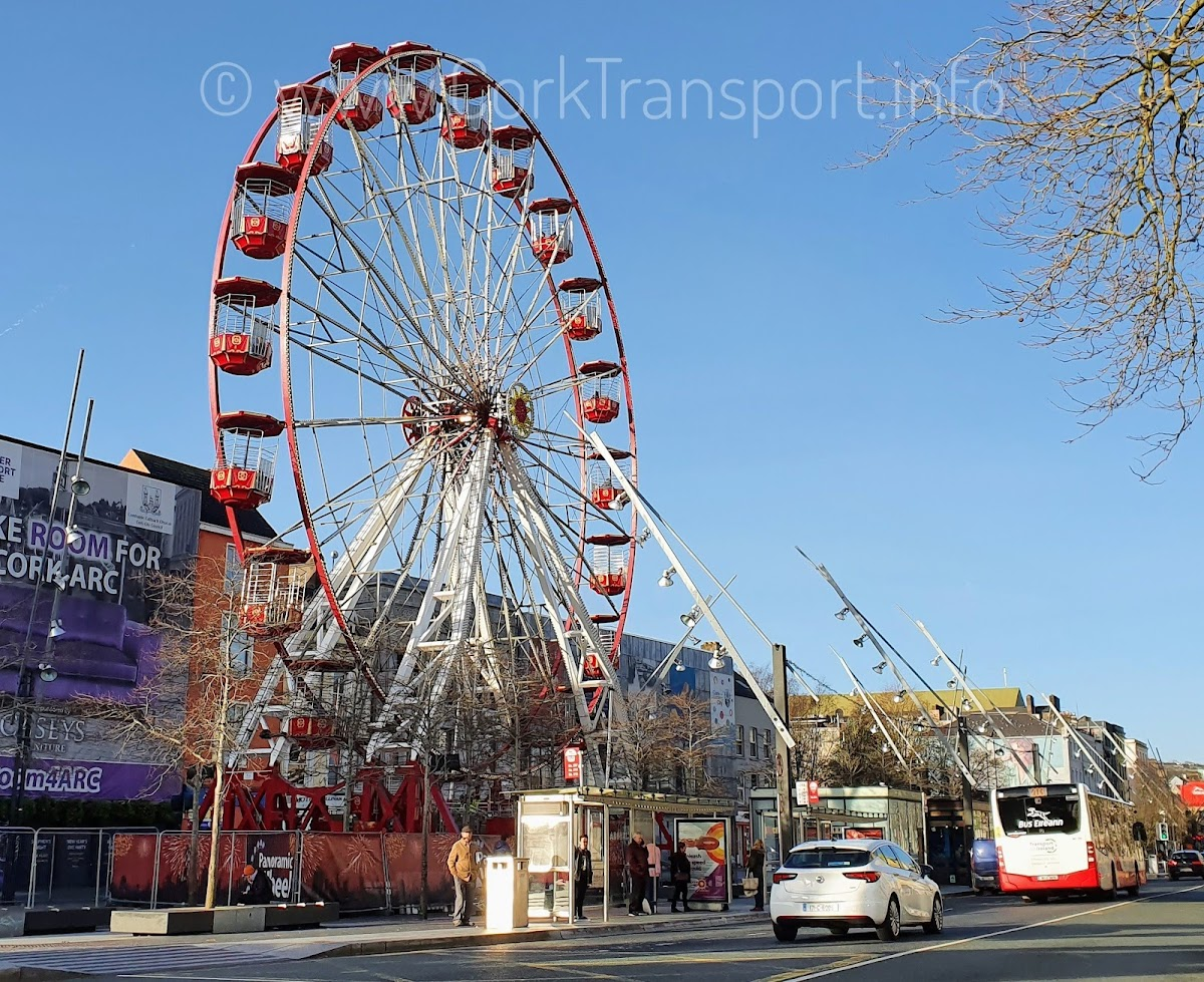 is cork city transport planning all pie in the sky thinking, like this ferris wheel on Grand Parade?