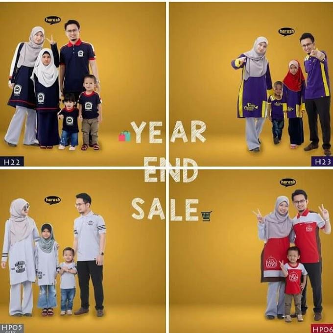 Year End Sale Tshirt Famili Sedondon